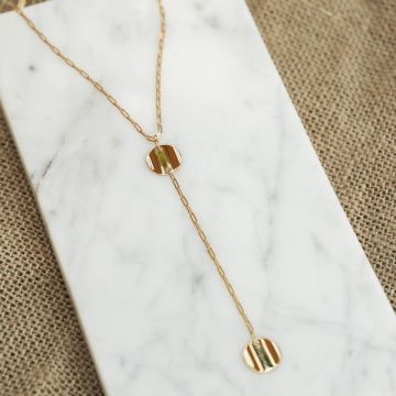 Collier long CHIPS