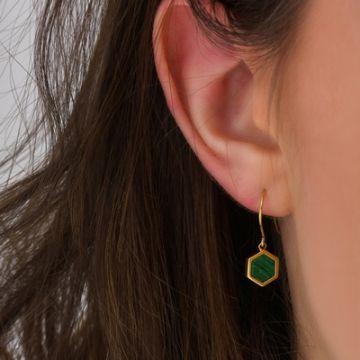 Boucles d'oreilles Petites Doré Tropezienne